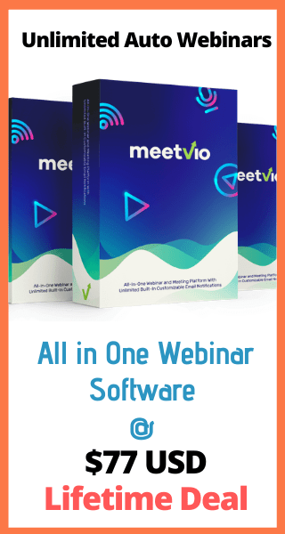 Meetvio All in One Webinar Software